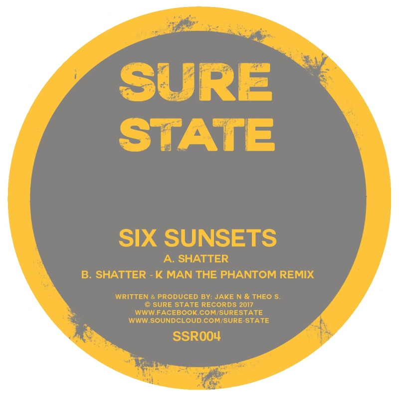 Six Sunsets - Shatter / K Man Remix [SSR004]